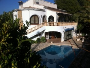 Holiday villa Spain Costa Blanca Moraira