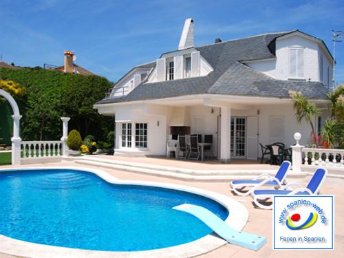 Spanien Ferienhaus mit einem privaten Pool zu vermieten
